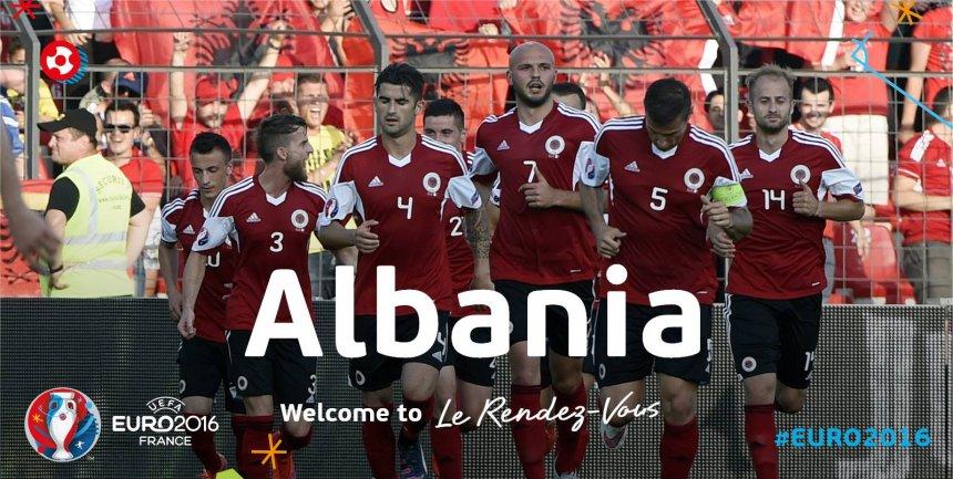 UEFA uron Shqipërinë për kualifikimin në Evropian