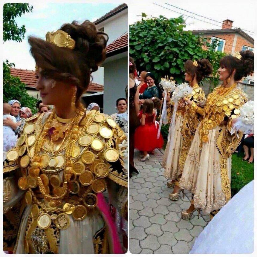 nuset shqiptare n u00eb maqedoni t u00eb mbuluara me ari  foto