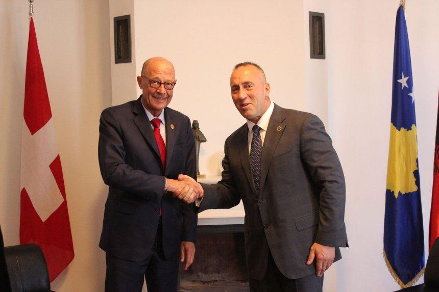 Haradinaj pret Kryetarin e Parlamentit6 Kantonal te Gjeneves