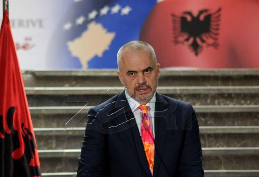 Rama: Nëse BE mbyll dyert bashkohemi me Kosovën