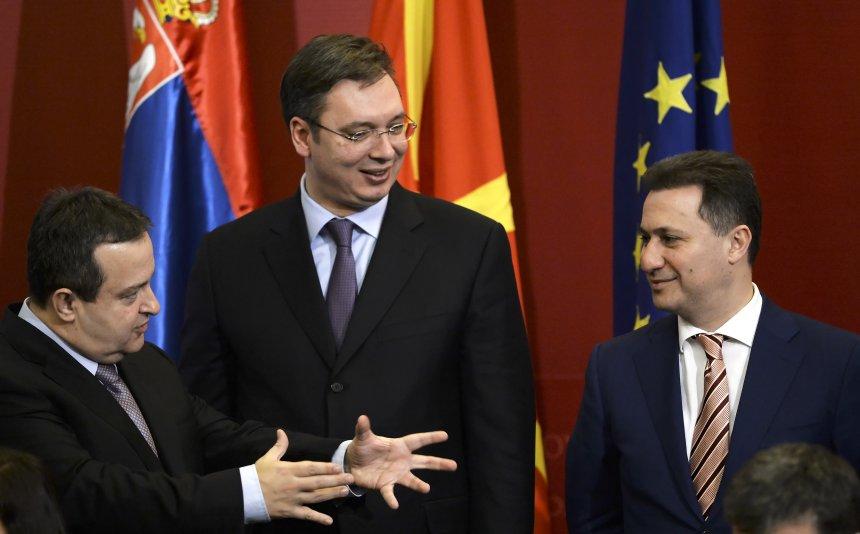 Dacic godet Gruevskin  Ju po na ofendoni kur e quani Kosovën Republikë