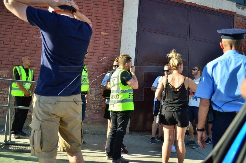 Tifozët e Norrkopingut po 'rreziten' në Mitrovicë (FOTO)