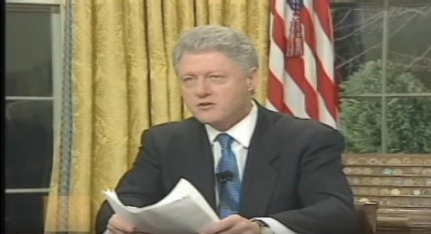Fjalimi i Bill Clintonit me 24 mars