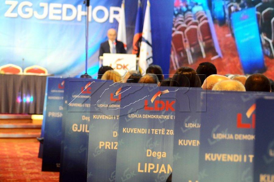 Zgjedhjet në LDK dhe në PDK, nën ethet e përçarjeve - Zëri