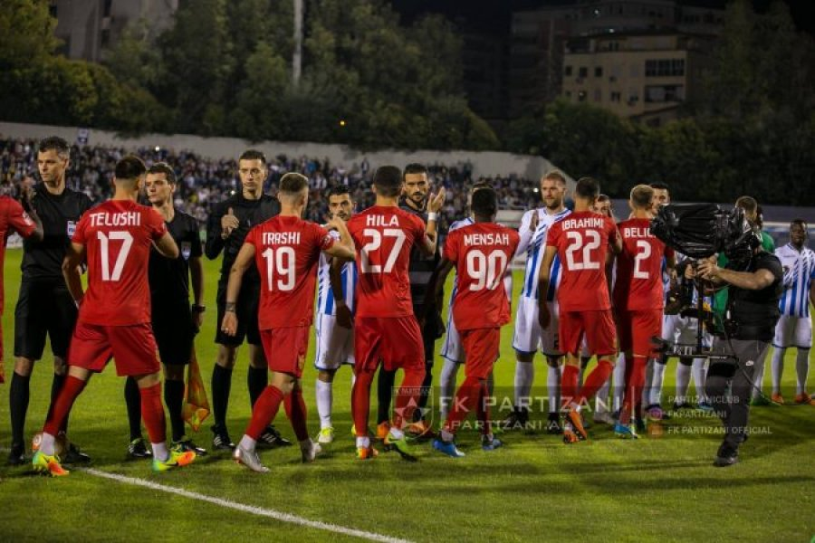 Nata e derbit  për pak minuta në  Air Albania  nis supersfida Partizani Tirana