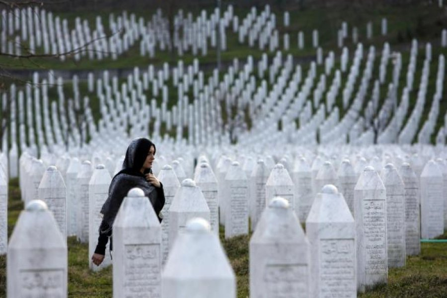 KMDLNJ  Mosnderimi i viktimave të masakrës së Srebrenicës  solidarizim me krimin
