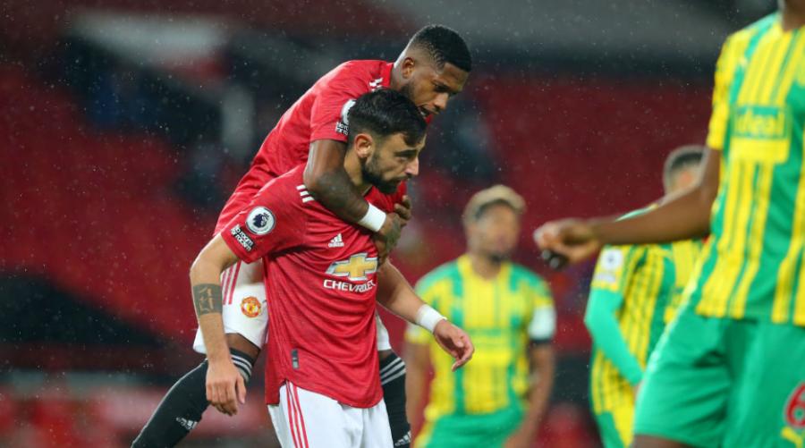 Unitedit i mjafton një gol për ta mposhtur West Bromit