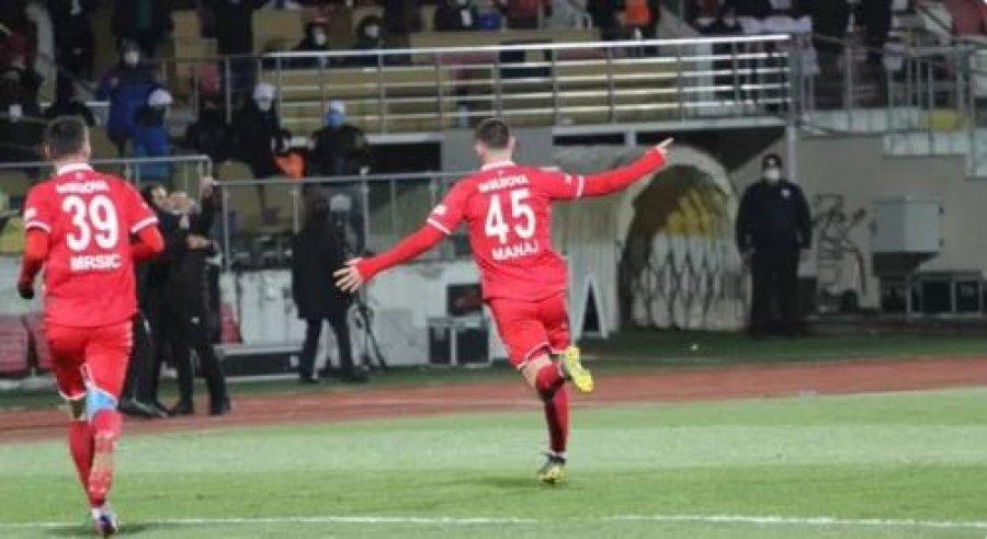 Arb Manaj vazhdon shkëlqimin në Turqi, shënon dy gola kundër Bursasporit